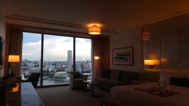 マリーナベイサンズ宿泊記|シンガポールNo.1のホテルに泊まる