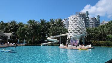 Wシンガポール宿泊記|大人のデザインホテル