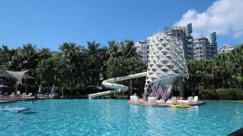 Wシンガポール プール